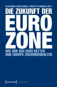 Buch-Titelseite 'Die Zukunft der Eurozone'
