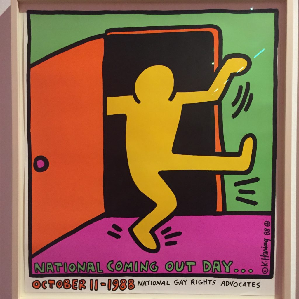 Keith Haring: National Coming Out Day